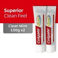 Colgate Total Pro Clean Mint 150gr 2 Pcs - As2-114379-8850006340721