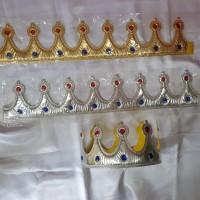 Mahkota Pesta / Crown King / Crown Princess / Mahkota Princess - kain