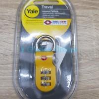Gembok Koper Yale TSA / Gembok Yale / Luggage Padlock YTP2/26/216/1E