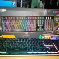 REXUS Gaming Keyboard Fortress K9-RGB Battlefire