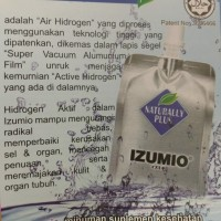Izumio air hydrogen made in Japan(jualnya per dus isi 30 sachet)
