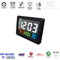 Jam Weker / Digital Desktop Smart Clock / Jam Meja Alarm GH-2000