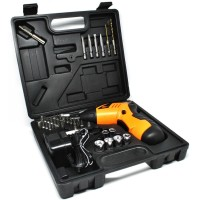 Cordless Screwdriver Drill 45 In 1 4.8V - S023-4.8V / Bor Listrik -