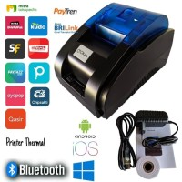 MINI PRINTER THERMAL BLUETOOTH 58 MM SUPPORT ANDROID IOS WINDOWS