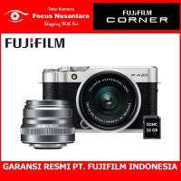 FUJIFILM X-A20 Kit 15-45mm f/3.5-5.6 (Silver) + PWP XF 35mm F/2