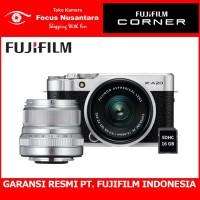 FUJIFILM X-A20 Kit 15-45mm f/3.5-5.6 (Silver) + PWP XF 23mm F/2