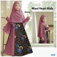maxi veari/maxi dress hijab anak cewek/baju gamis syari anak perempuan