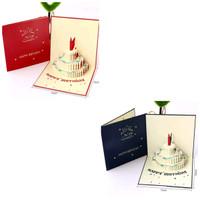 kartu pop up kartu 3d kartu ucapan ulang tahun happy birthday
