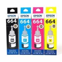 PAKET Tinta EPSON 664 Black / Cyan / Magenta / Yellow