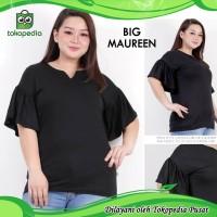 Big Maureen Batwing Baju Atasan Wanita Blouse Bigsize Jumbo