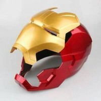 Helm Ironman exclusive cosplay 1:1 with ring not hot toys iron man