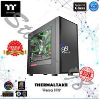 Thermaltake Versa H17 - TT Case Casing Gaming PC Acrylic Window Micro
