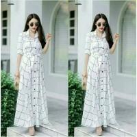 long dress korea/long dress ashanty/baju dress wanita