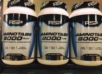 Rsp Aminotabs 8000+ Plus Amino Acid Suplemen Fitnes Eceran Terlaris
