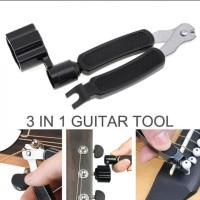 MURAH!!! Gitar Tools 3 in 1 Pemutar & Pemotong Senar, dan Pencapit Pin