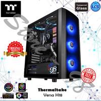 Thermaltake Versa H18 - TT Case Casing Gaming PC Acrylic Window Micro