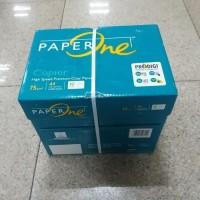 Kertas A4 70Gr Paperone 1 Dus (5 Rim) / Kertas HVS A4 70Gr Paperone