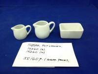Sugar Pot / Milk Jug keramik size besar
