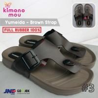 Sandal Sendal Pria Cowok Yumeida - Jepit - Karet -Model New Era Carvil