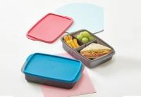 PALINGLARIS tuppy ori tupperware Cool Teen Lunch Box-pink TERLARIS