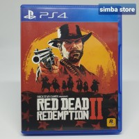 Red Dead Redemption II 2 RDR 2 BD Blueray Games Playstation 4 PS4