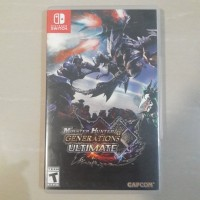 Kaset Nintendo Switch Monster Hunter Generations Ultimate