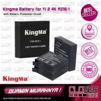Kingma Baterai Xiaomi Yi 2 4K 1000mAh - AZ16-1 - Hitam