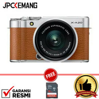 Fujifilm XA20 kit XC 15-45mm OIS PZ GARANSI RESMI