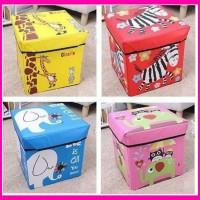 Animal Storage Box/Tempat Mainan Anak/Kursi Storage/Kotak Penyimpanan