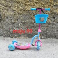 scooter anak musik keranjang
