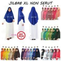 Jilbab Super Jumbo Pet Antem Bahan Kaos Pe Warna Hijau HOT SALE