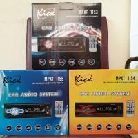 Single din single mp3 tape mobil kicx