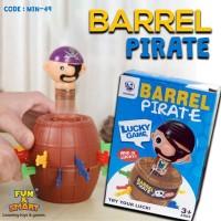 CUCI GUDANG Pirate Roulette Barrels Running Man Korean Games - MIN 49