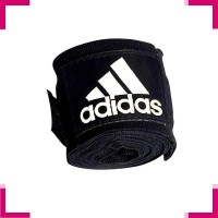 Sarung Tinju A609 Adidas Handwrap Black 5.7cm & 255cm Adidas Handwrap