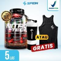 Muscletech Nitrotech 5 Lbs / 5lbs Whey Protein Nitro tech Muscle Tech