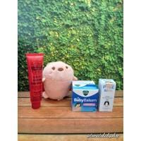 Paket Healthy Baby vicks baby balsam lucas papaw inhalant decongestant