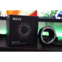 MEIKE MK-S-AF4 Mount Adapter for Sony E-Mount to Canon EF/EF-S [Bekas]