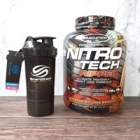 Muscletech Nitrotech Ripped 4 Lbs Nitro Tech Ripped Whey+Fat loss