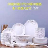 dinner set keramik / peralatan makan chinese tea set