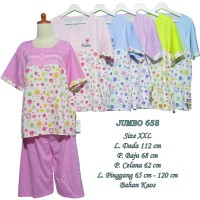 Baju Tidur Wanita Dewasa Jumbo JST658