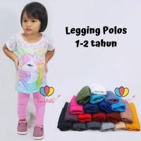 Legging Polos 1-2 Tahun / Celana Anak Panjang Perempuan Leging Kaos