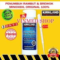 Kirkland Minoxidil 5% Original USA TANPA PIPET