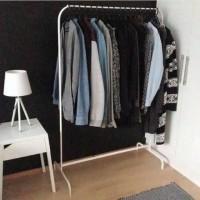 IKEA MULIG 3KG Rak Pakaian Gantungan Baju/Celana/Tas Putih, Stand