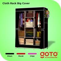 Lemari Pakaian Jumbo Rak Baju Serbaguna Cloth Rack Portable Murah