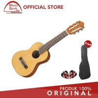 Yamaha Gitar Mini GL 1 GL 1 GL1 Guitalele Natural Softcase 2 Pick