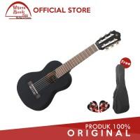 Yamaha Gitar Mini GL 1 GL 1 GL1 Guitalele Hitam Softcase 2 Pick