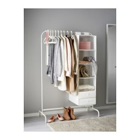 Best Seller | Rak Gantung Baju Celana Bazar IKEA MULIG Lemari Pakaian