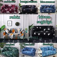Cover Sofa Bed Import Elastis 1 2 3 Seater Dudukan Sarung Penutup Sofa