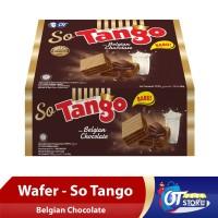 WAFER SO TANGO BELGIAN CHOCOLATE 38GR [1 BOX ISI 12PCS]