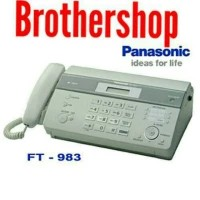 Mesin Fax Panasonic KX-FT 983CX